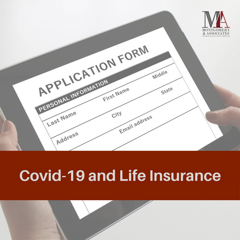 covid-19 and life insurance application form